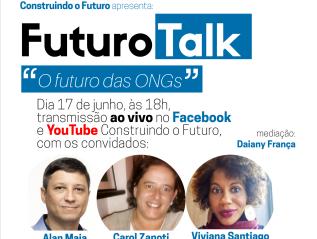 "Webinário ""O Futuro dasONGs"""